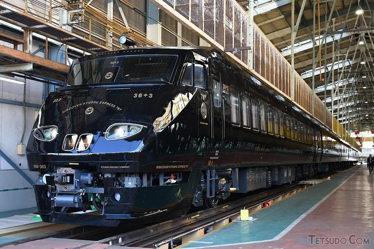 JR九州の新たなD&S列車「36ぷらす3」