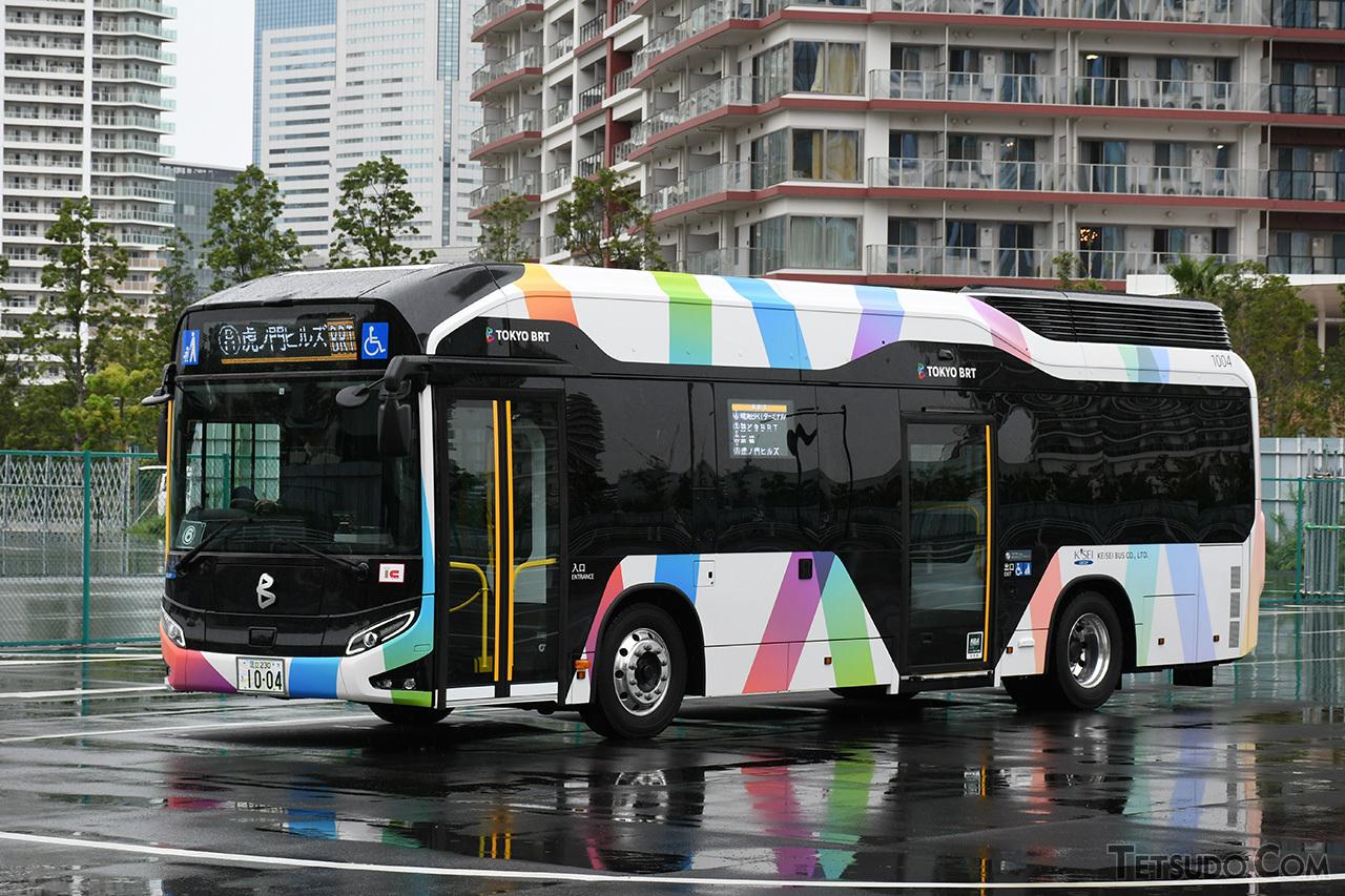 燃料電池バス「SORA」も使用されています