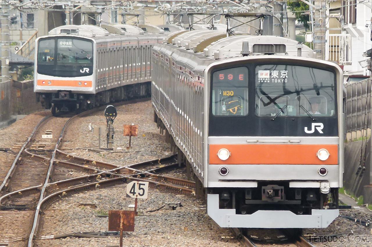 武蔵野線の205系