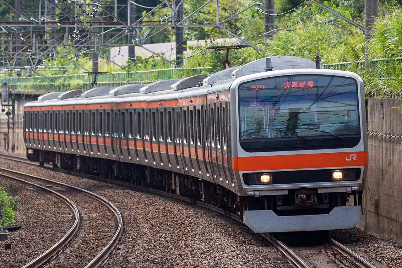 中央・総武快速線から武蔵野線に転配されたE231系