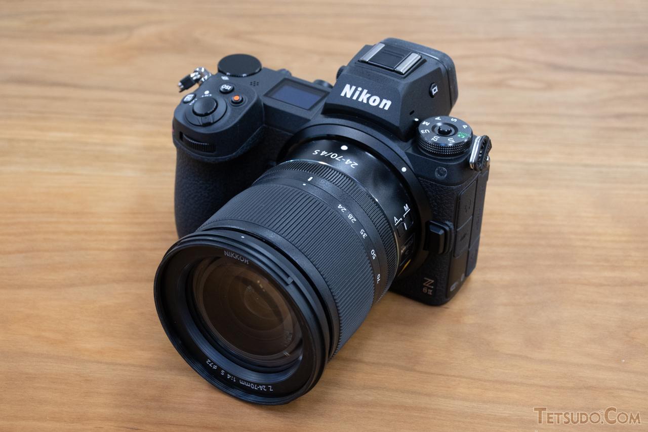ニコンの新型ミラーレスカメラ「ニコン Z 6II」