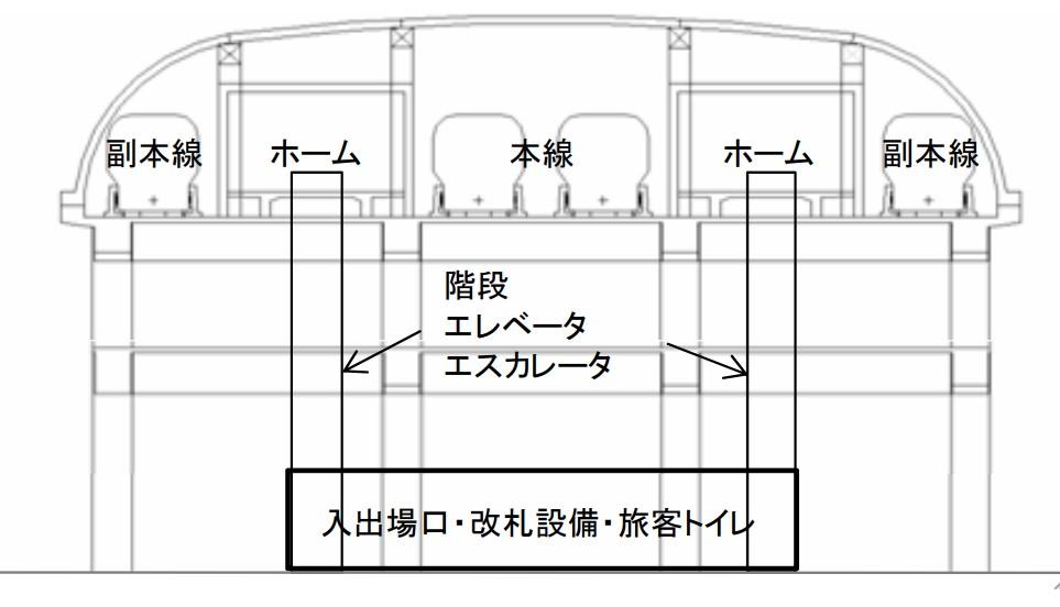 中間駅のイメージ(画像:JR東海)