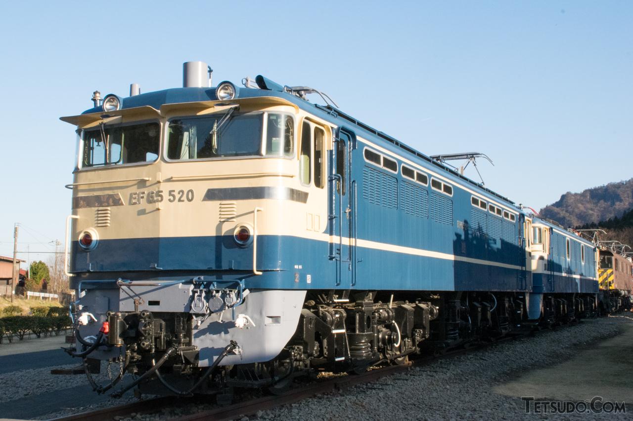 碓氷峠鉄道文化むらに保存されている、EF65形500番台のF形
