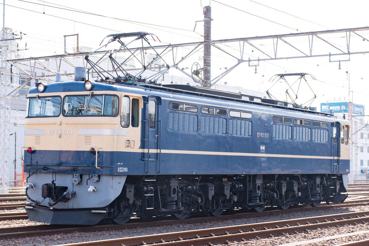 高崎車両センター所属に所属する現役唯一のP形、501号機