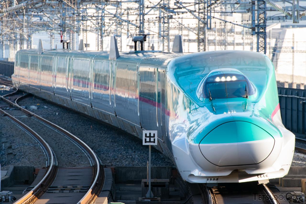 大宮以南で最高速度がアップする東北新幹線