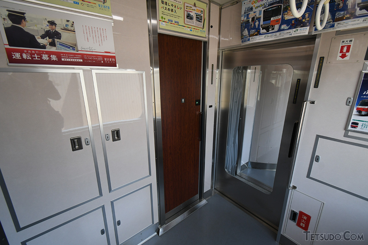 3号車には男性用トイレを設置