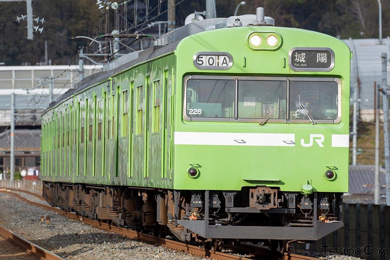 奈良線用の103系