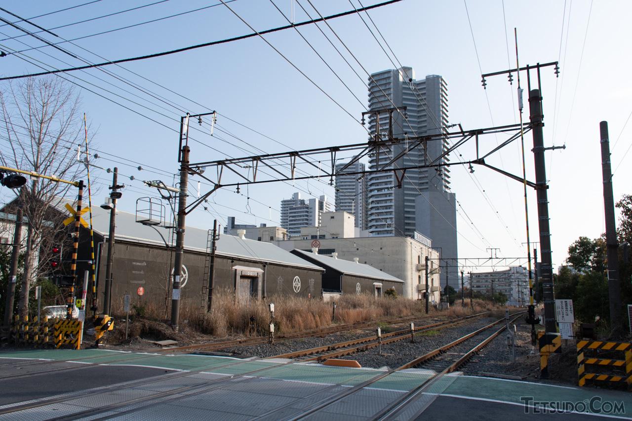 東海道本線の貨物支線、通称「高島線」