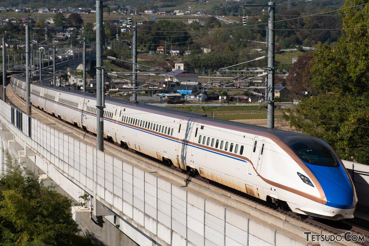助川さんが鉄道写真の基本と考える「編成写真」