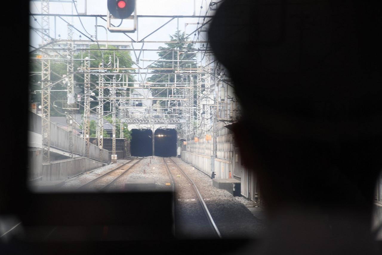 トンネルを越え武蔵野線へ。この区間は普段も「しもうさ」号などで乗車できる。