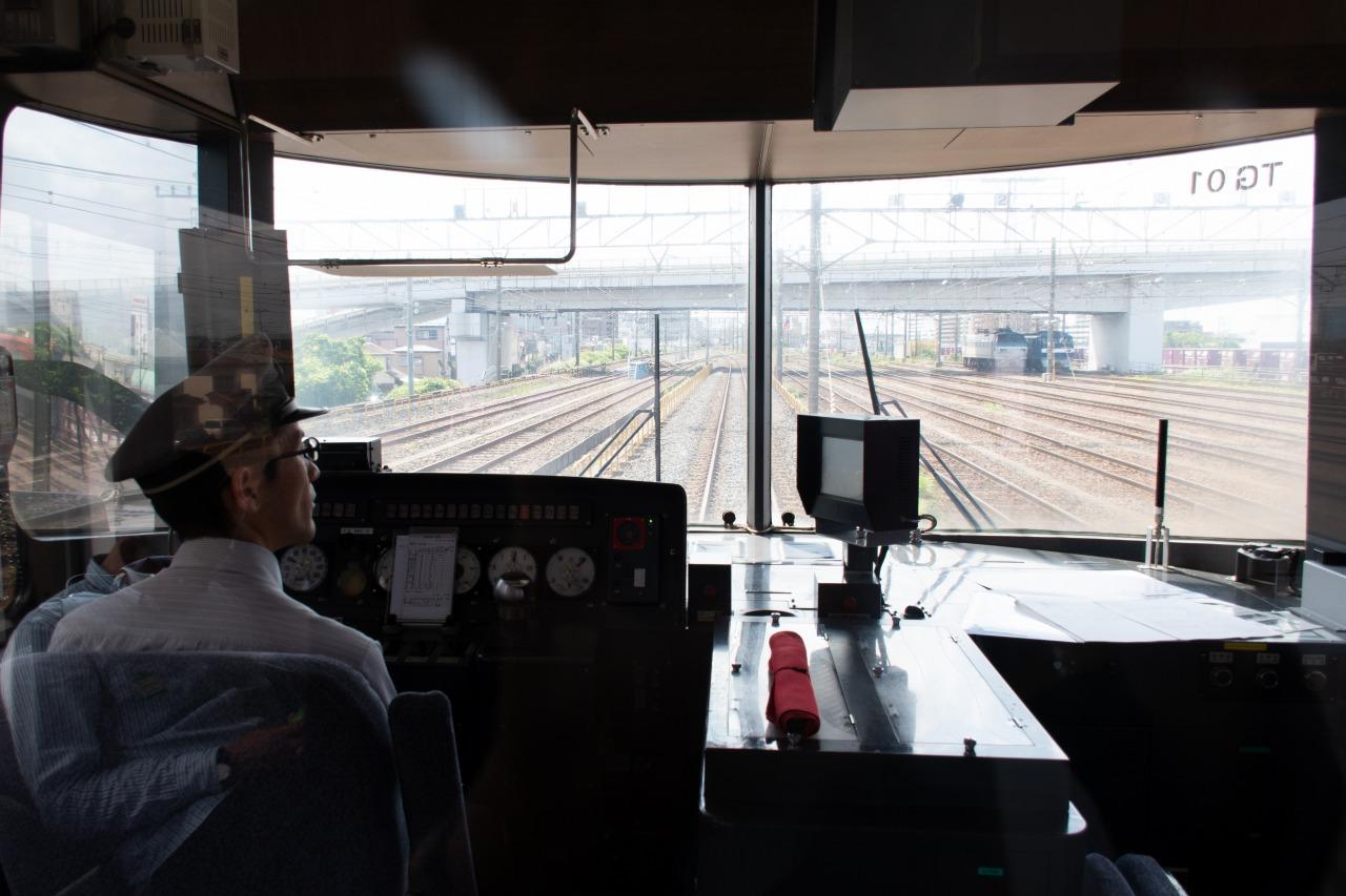 武蔵野線の貨物駅の1つ、越谷貨物ターミナル。