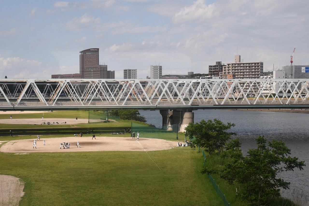 江戸川を渡る。三度訪れた千葉県ともお別れ。