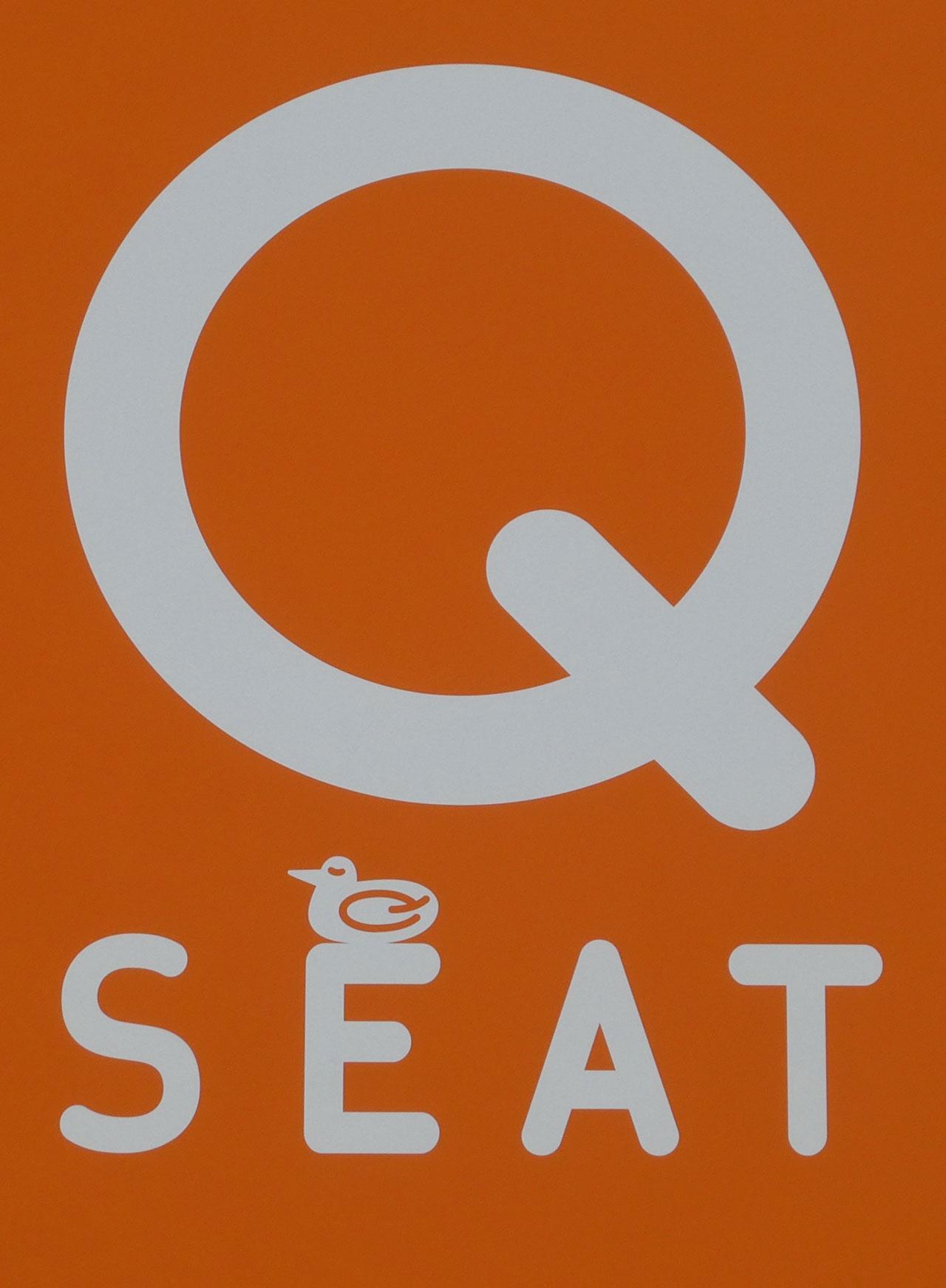 Q SEATのロゴマーク
