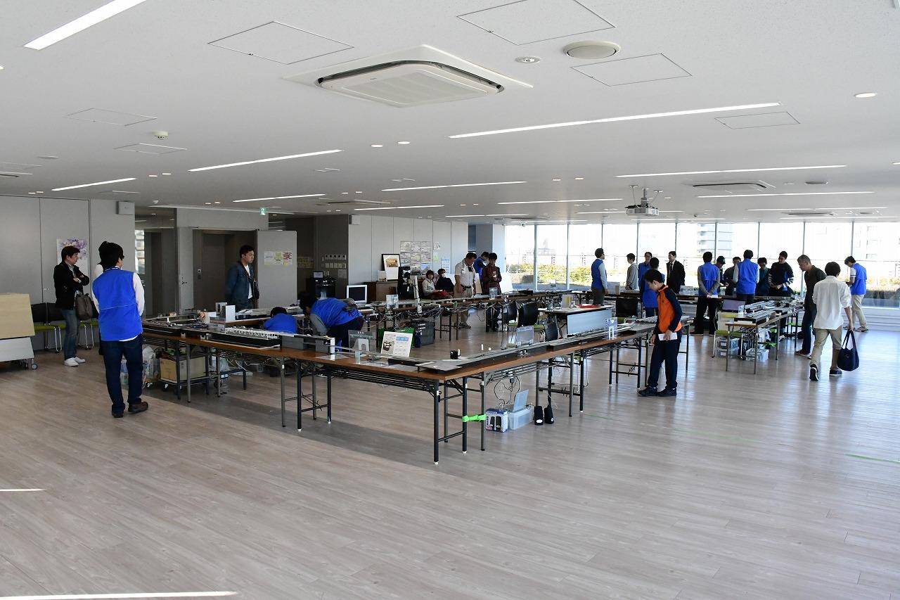 RFCダイヤ運転フェスタ2018の会場。東京都にあるホビーセンターカトーにて開催されました