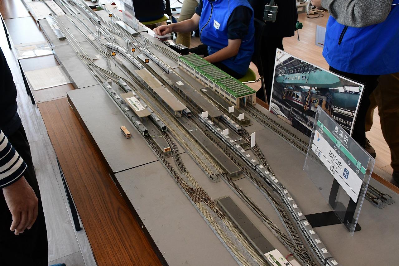 現実でも模型でも田園都市線の要衝となる長津田駅