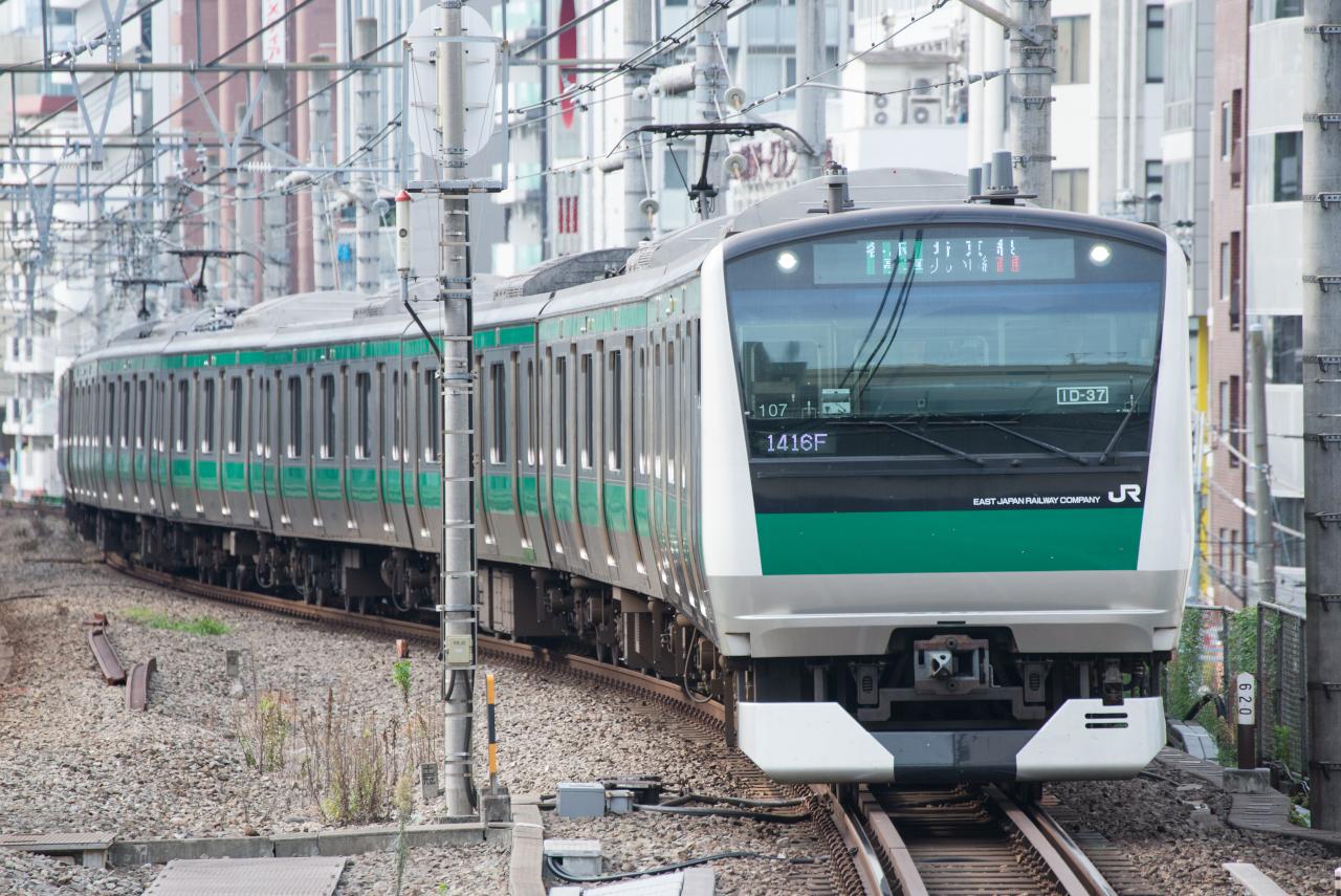 羽田空港からりんかい線を経由して、東京・舞浜方面のほか新宿方面を結ぶ羽田アクセス線は、蒲蒲線の大田区構想と競合することになります(イメージ)