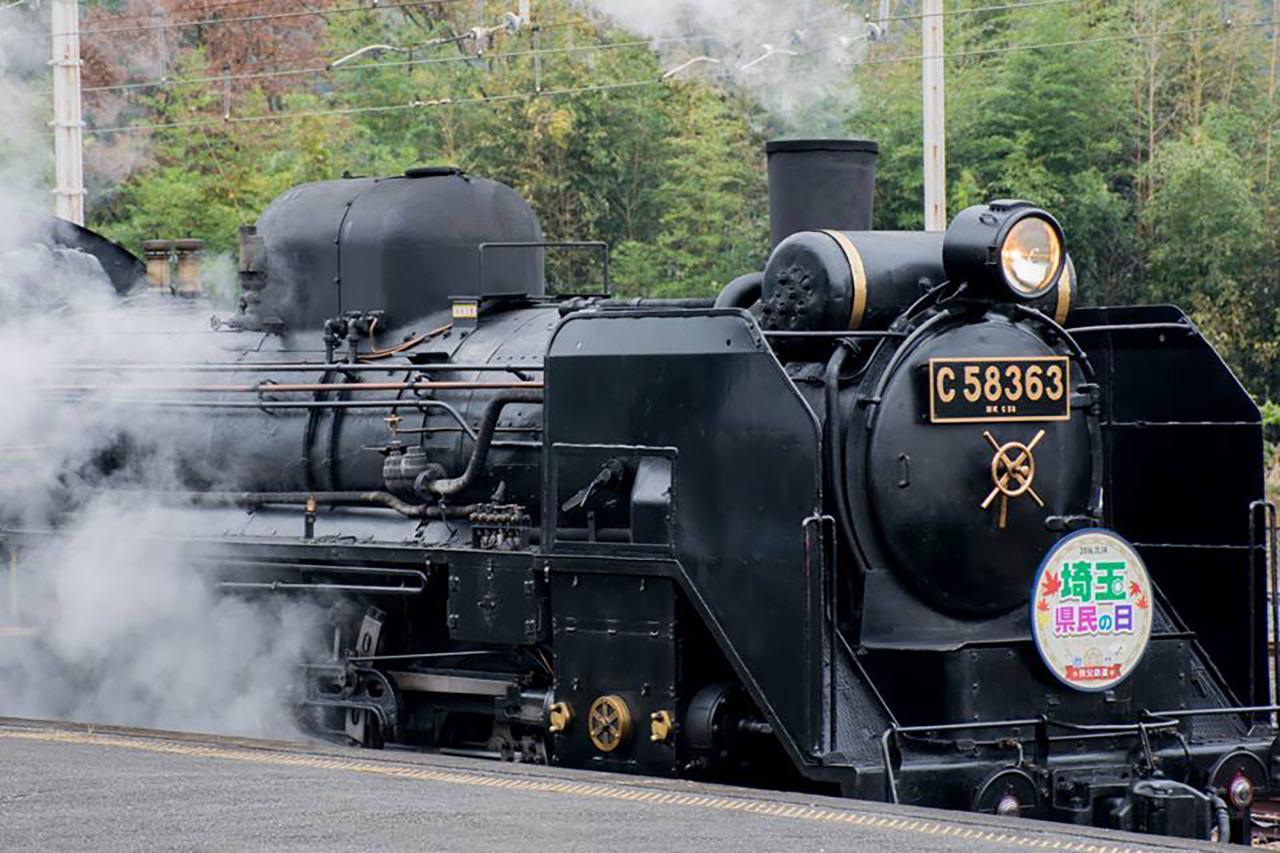 渋沢栄一が設立に関わった、現在の秩父鉄道を走るSL「パレオエクスプレス」
