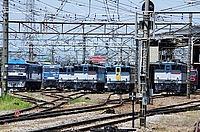 train, track, outdoor, railroad