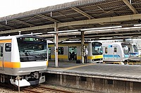 train, track, station