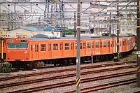 train, track, outdoor, transport, orange, traveling