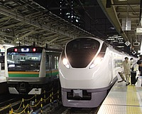 train, indoor, station, platform, track, ceiling, pulling