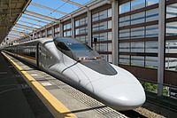train, station, platform, track