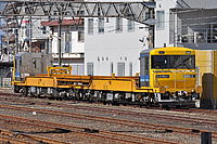outdoor, ground, track, train, transport, traveling, railroad, several