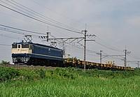 grass, sky, outdoor, transport, train, lush