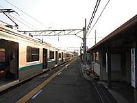 train, sky, outdoor, track, platform, station, transport, pulling, long, stopped, railroad