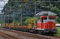 train, track, outdoor, tree, transport, traveling, railroad, long, line