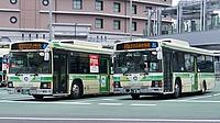road, bus, building, outdoor, street, city, transport, green