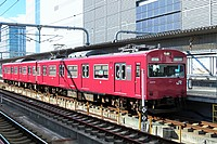 building, train, track, transport, outdoor, red, long, traveling