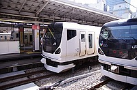 track, outdoor, transport, station, platform, train, railroad, rail, travel, tram