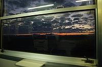 indoor, oven, entertainment center, train, travel, railroad, window