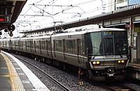 train, track, transport, outdoor, platform, station, rail, land vehicle, vehicle, pulling, traveling, railroad, day