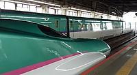 green, vehicle, train, land vehicle, text, platform, station, car