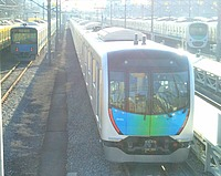 outdoor, vehicle, land vehicle, track, text, station, platform, public transport, way, transport, road, train, traveling, day