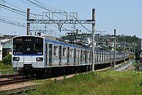 grass, train, sky, track, outdoor, rail, transport, land vehicle, vehicle, locomotive, traveling, railroad, engine, day