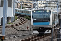 track, train, railroad, outdoor, rail, land vehicle, building, vehicle, station, rolling stock, railway, city, public transport, traveling