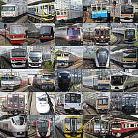 building, vehicle, land vehicle, bus, outdoor, car, harbor, city, wheel, lots, bunch, busy, several