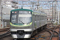 train, track, transport, outdoor, land vehicle, railroad, vehicle, rail, green, station