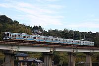outdoor, sky, train, track, building, vehicle, land vehicle, rail, locomotive, traveling, railroad