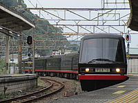 train, track, outdoor, rail, land vehicle, vehicle, station, transport, platform, traveling, railroad