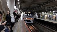 indoor, land vehicle, ceiling, vehicle, platform, station, train, road