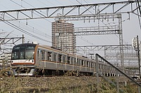 grass, rail, outdoor, track, land vehicle, vehicle, transport, locomotive, station, train, rolling stock, traveling, railroad, several