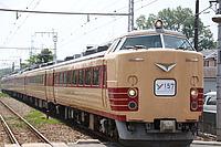 sky, train, outdoor, track, transport, land vehicle, vehicle, rail, locomotive, traveling, railroad, day