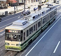 vehicle, tram, land vehicle, bus, outdoor, streetcar, transport, city, train, public transport, busy