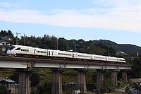 sky, outdoor, train, building, locomotive, rail, land vehicle, vehicle, bridge, railroad