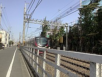 sky, outdoor, bridge, train, travel, rail, vehicle, way, road, traveling, railroad, distance