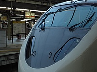 vehicle, land vehicle, station, transport, platform, bullet train, pulling, train